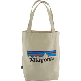 Patagonia Market Tote P-6 logo/bleached stone